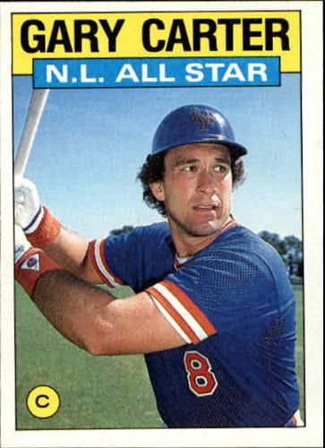Photo of 1986 Topps #708 Gary Carter AS