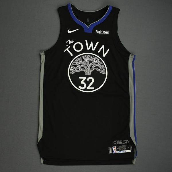 Image of Marquese Chriss - Golden State Warriors - Christmas Day' 19 - Game-Worn City Edition Jersey