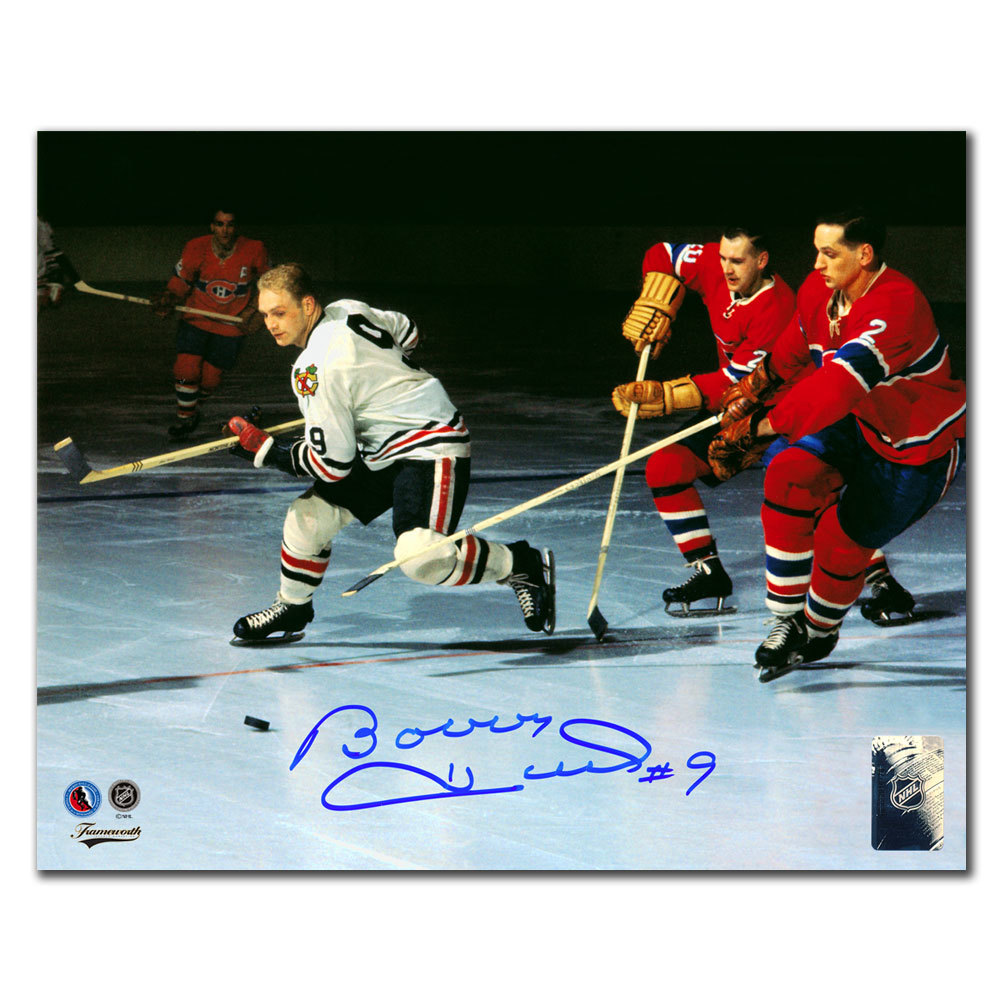 Bobby Hull Chicago Blackhawks BREAKOUT Autographed 8x10