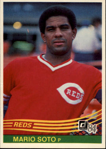 Photo of 1984 Donruss #428 Mario Soto