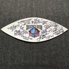 HOF - Multi Signed White Panel W/ Over 10 Signatures Including Jim Kelly, Charlie Joiner, Billy Shaw