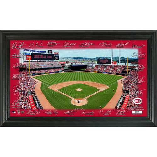 Photo of Cincinnati Reds 2020 Signature Field Limited Edition Frame