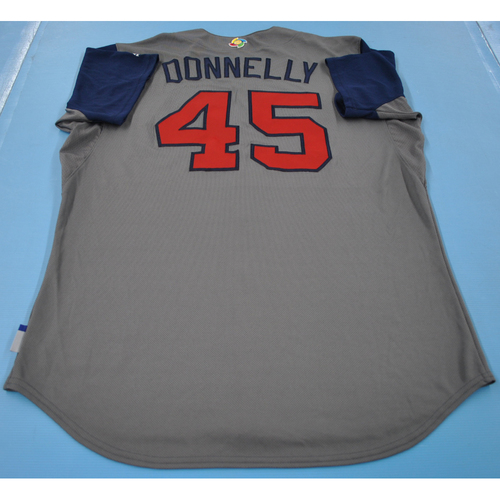 Photo of Game-Used Jersey - 2017 World Baseball Classic - Team USA - Rich Donnelly - Round 1 - Size 48