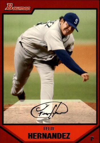 Photo of 2007 Bowman #162 Felix Hernandez