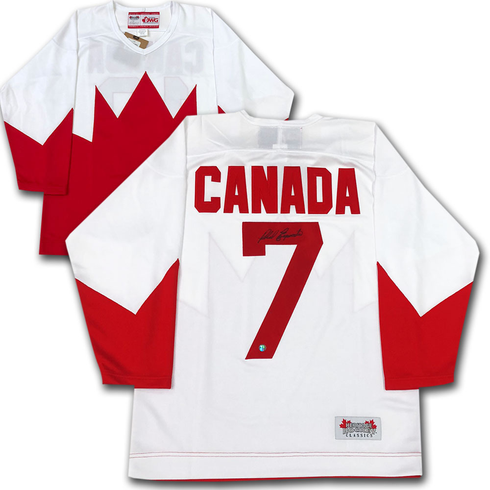 Phil Esposito Autographed 1972 Team Canada Jersey