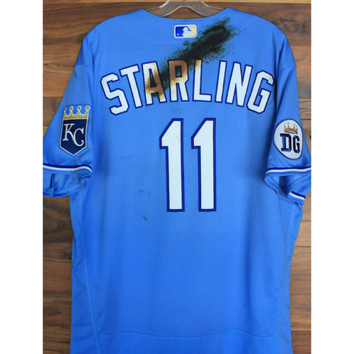 Photo of Alex's Lemonade Stand Foundation: Team-Issued Bubba Starling Jersey (Size 48 - Authenticated as Team-Issued on 9/26/20 DET @ KC)