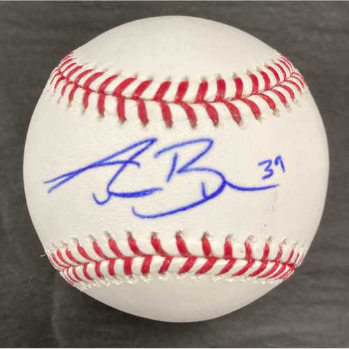 Photo of Aaron Bummer Autographed Baseball