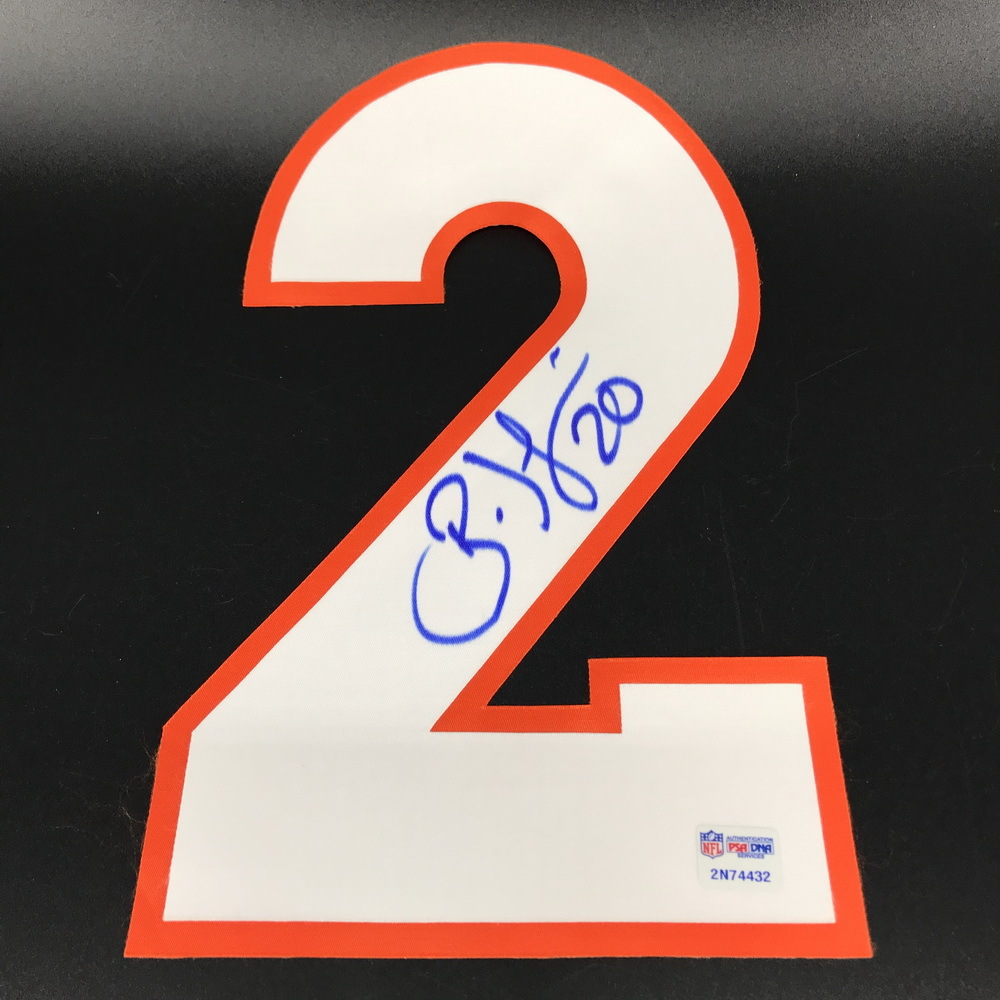 NFL - Broncos Brian Dawkins Signed Jersey Number