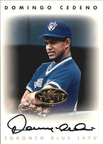 Photo of 1996 Leaf Signature Autographs Gold #42 Domingo Cedeno