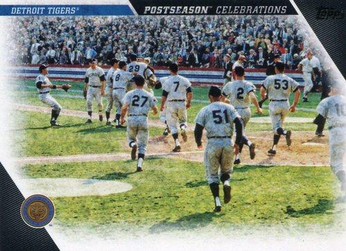Photo of 2017 Topps Update Postseason Celebration #PC4 Detroit Tigers