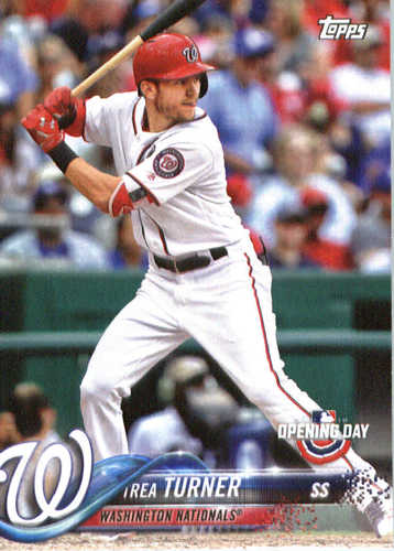 Photo of 2018 Topps Opening Day #110 Trea Turner