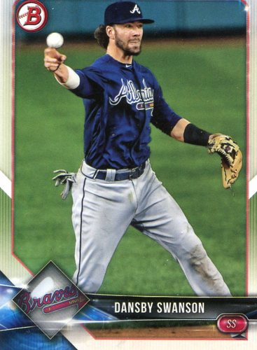 Photo of 2018 Bowman #61 Dansby Swanson