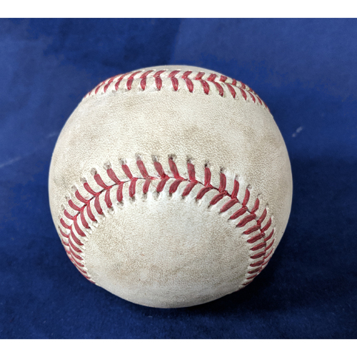 Photo of Game-Used Baseball: Justin Upton Home Run - 4/6/18
