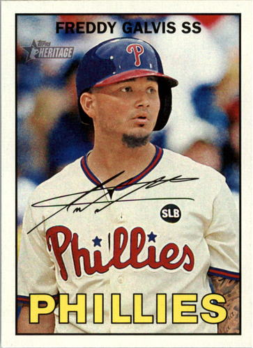 Photo of 2016 Topps Heritage #69 Freddy Galvis