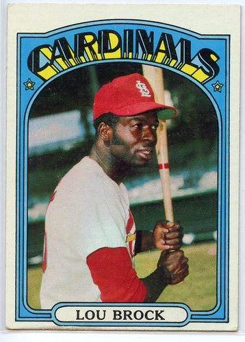 Photo of 1972 Topps #200 Lou Brock