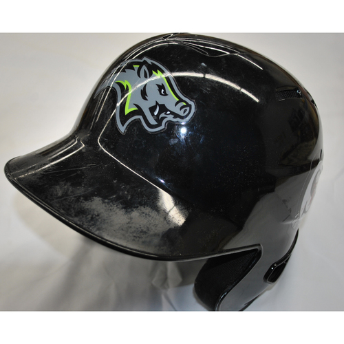 Photo of Arizona Fall League - Game-Used Batting Helmet - Player Name: J.J. Matijevic (HOU) - Jersey Number: 10