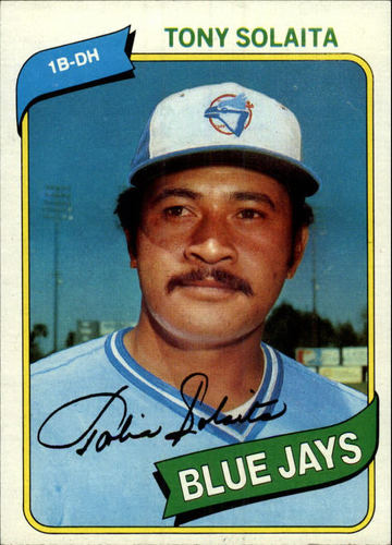 Photo of 1980 Topps #407 Tony Solaita