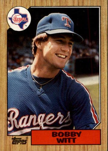 Photo of 1987 Topps #415 Bobby Witt RC