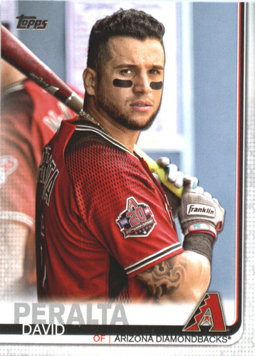 Photo of 2019 Topps #352 David Peralta