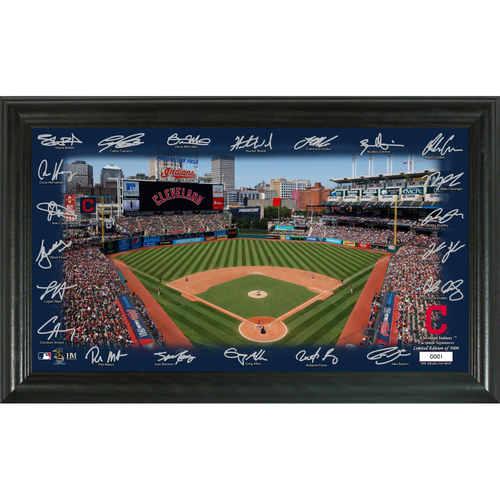 Photo of Cleveland Indians 2020 Signature Field Limited Edition Frame