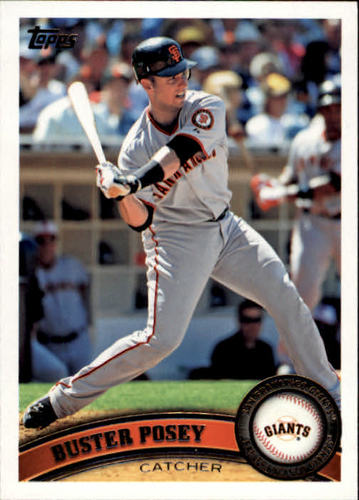 Photo of 2011 Topps #335 Buster Posey