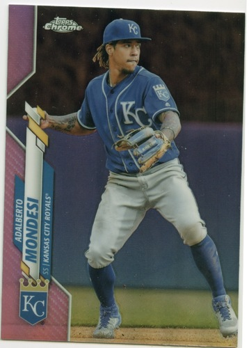 Photo of 2020 Topps Chrome Pink Refractors #31 Adalberto Mondesi