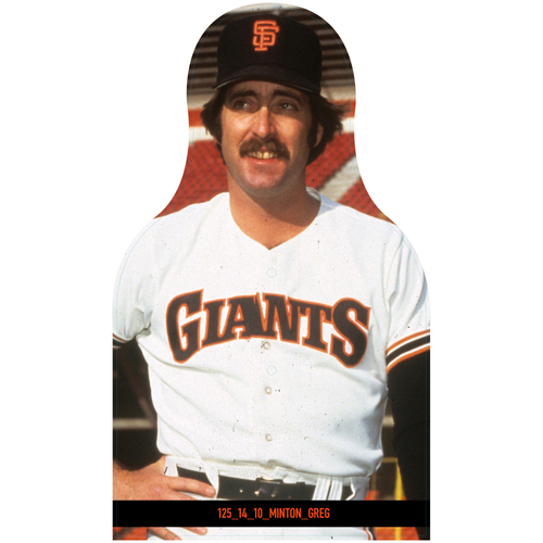 Photo of Giants Community Fund: Giants Greg Minton Cutout