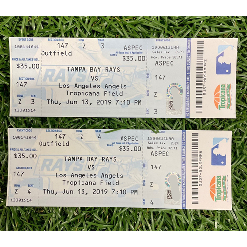 Photo of Replica Game Tickets: Shohei Ohtani First Career Cycle Game - June 13, 2019 v LAA