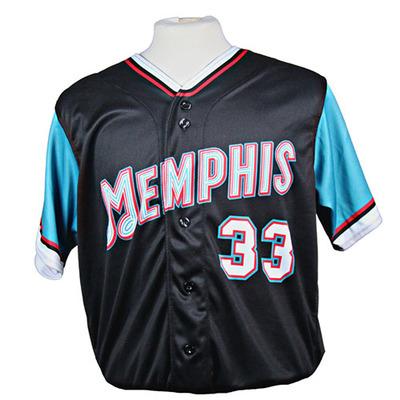 Memphis Redbirds Team-Signed 2021 Grizzlies-themed Jersey #33