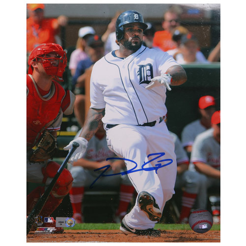 Detroit Tigers Prince Fielder Autographed 8x10 Photo
