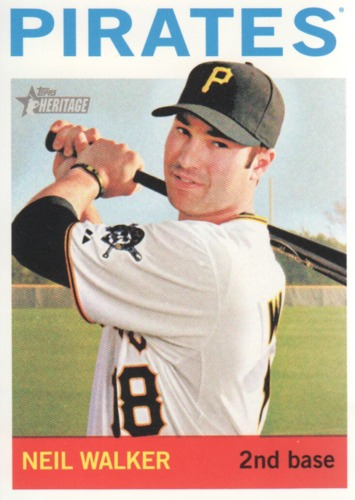 Photo of 2013 Topps Heritage #302 Neil Walker