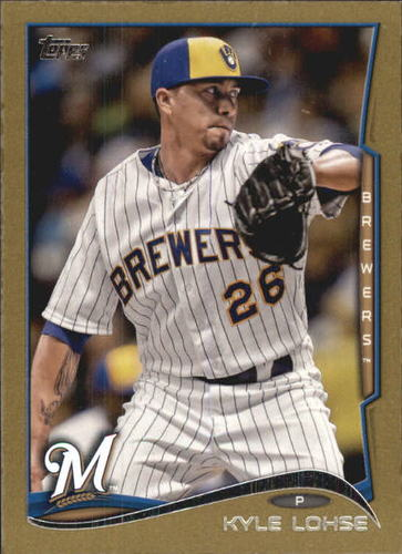 Photo of 2014 Topps Mini Gold #51 Kyle Lohse