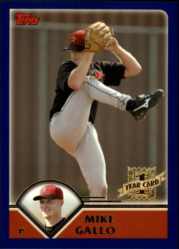 Photo of 2003 Topps Traded #T230 Mike Gallo FY RC
