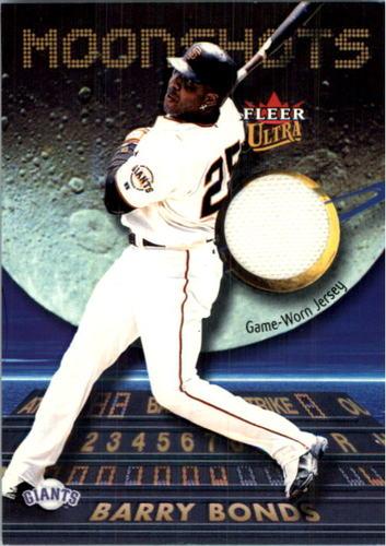 Photo of 2003 Ultra Moonshots Memorabilia #BB Barry Bonds Jsy
