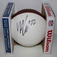 CHIEFS - MARCUS PETERS SIGNED PANEL BALL