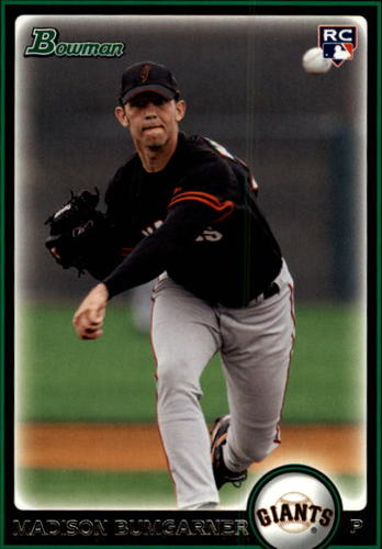 Photo of 2010 Bowman #206 Madison Bumgarner Rookie Card