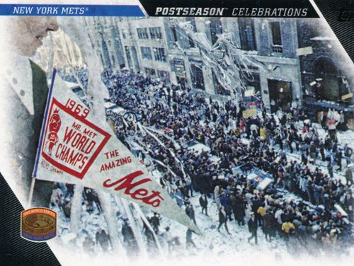 Photo of 2017 Topps Update Postseason Celebration #PC6 New York Mets