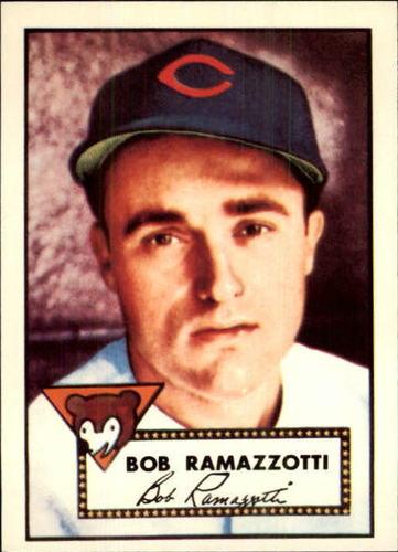 Photo of 1983 Topps 1952 Reprint #184 Bob Ramazzotti