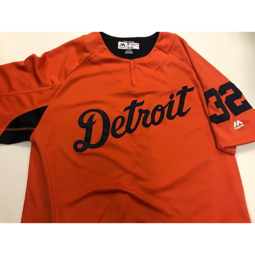 Photo of Team-Issued Road Batting Practice Jersey: Michael Fulmer