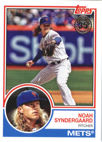Photo of 2018 Topps '83 Topps #836 Noah Syndergaard