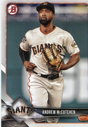 Photo of 2018 Bowman #68 Andrew McCutchen