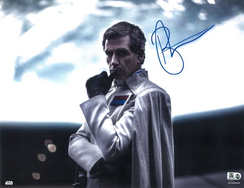 Ben Mendelsohn as Director Orson Krennic 11x14 Autographed in Blue Ink Photo