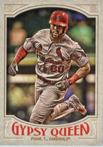 Photo of 2016 Topps Gypsy Queen #268 Tommy Pham