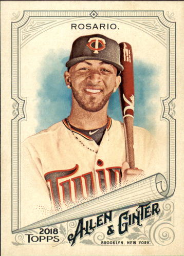 Photo of 2018 Topps Allen and Ginter #12 Eddie Rosario