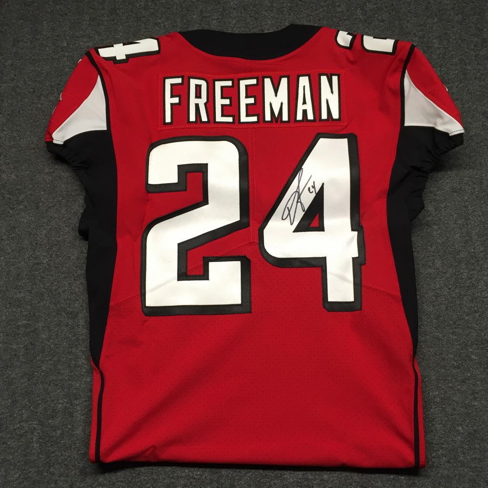 e4f85106 NFL Auction | NFL - Falcons Devonta Freeman signed authentic Falcons ...
