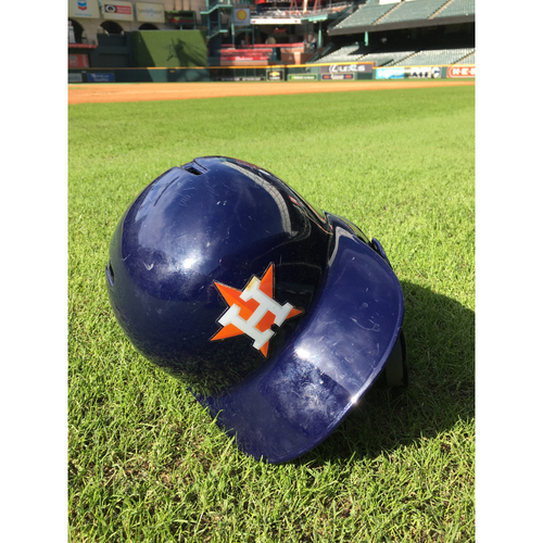 Photo of Marwin Gonzalez 2018 Postseason Game-Used Helmet