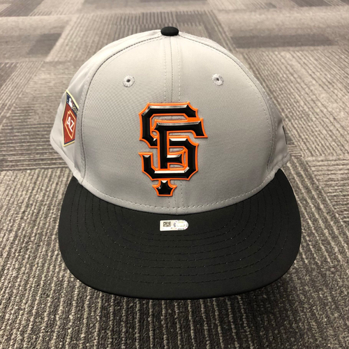 Photo of 2018 Team-Issued Gray Spring Training Cap - #13 - Size 7 5/8
