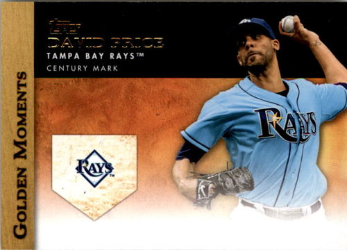 Photo of 2012 Topps Update Golden Moments #GMU17 David Price