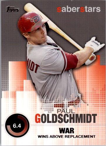 Photo of 2014 Topps Saber Stars #SST9 Paul Goldschmidt