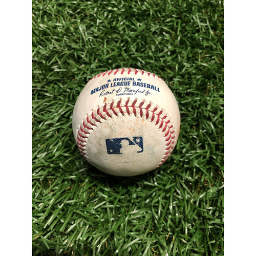 Game Used Baseball: Ryan O'Hearn triple off Ryne Stanek - April 23, 2019 v KC